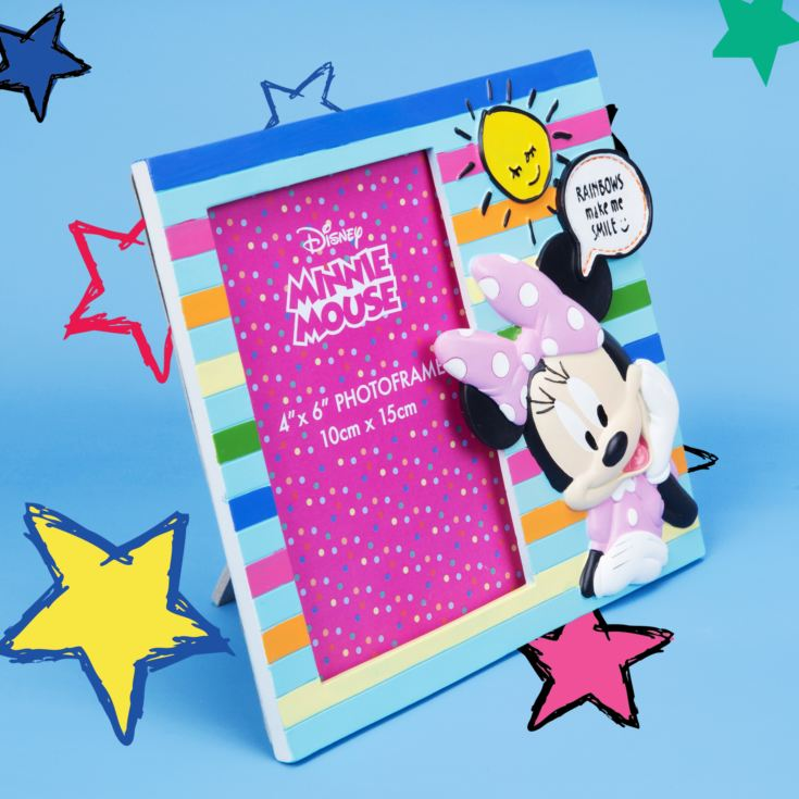 "4"" x 6"" - Disney Minnie Mouse 3D Resin Photo Frame product image"