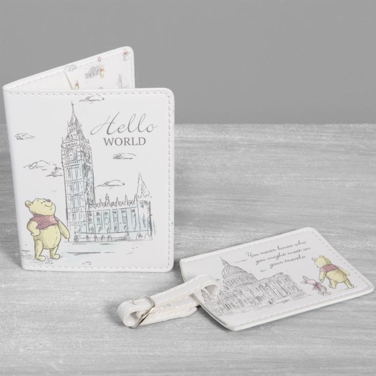Disney Christopher Robin Passport Holder & Luggage Tag product image