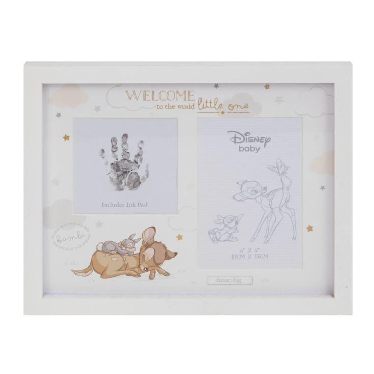Disney Magical Beginnings Photo & Hand Print Frame - Bambi product image