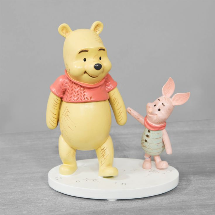 Disney Christopher Robin Resin Pooh & Piglet Figurine product image