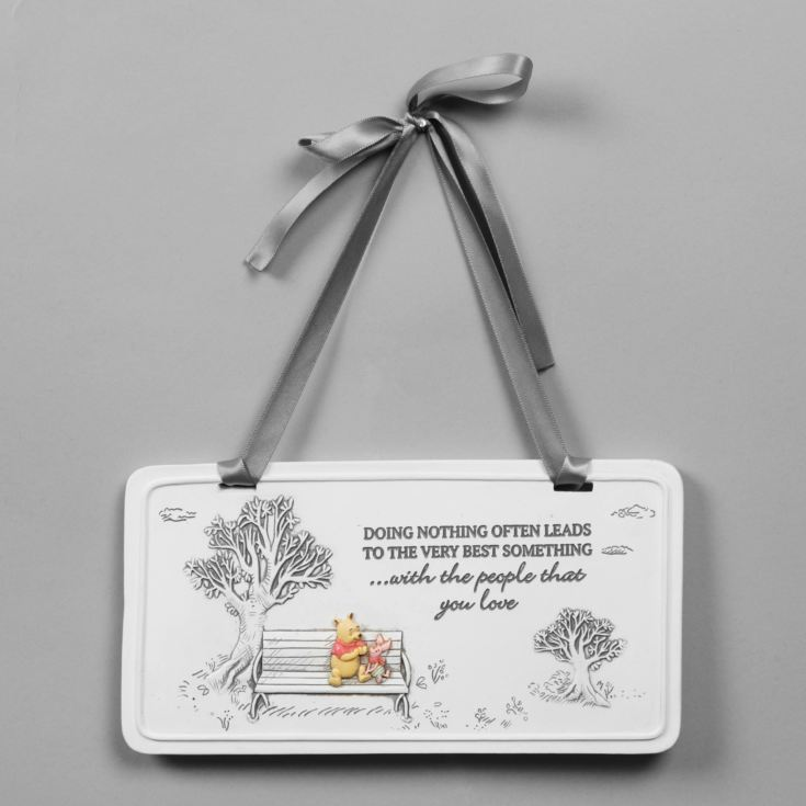 Disney Christopher Robin Winnie the Pooh Rectangle Plaque product image