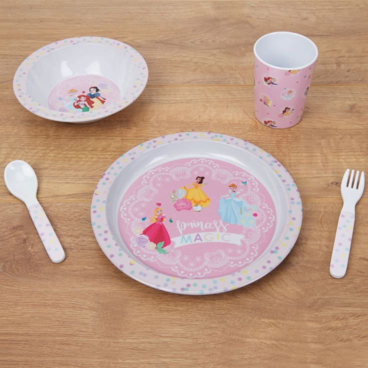 Dinsey True Princess 5 Piece Melamine Breakfast Set product image
