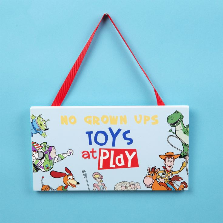 Disney Toy Story 4 Bedroom Plaque product image