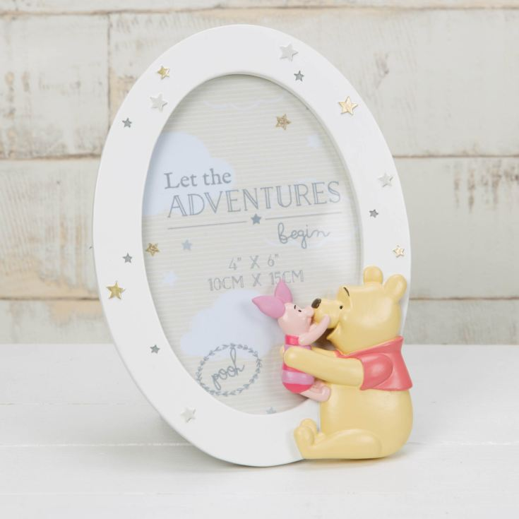 Disney Magical Beginnings Photo Frame Pooh & Piglet product image