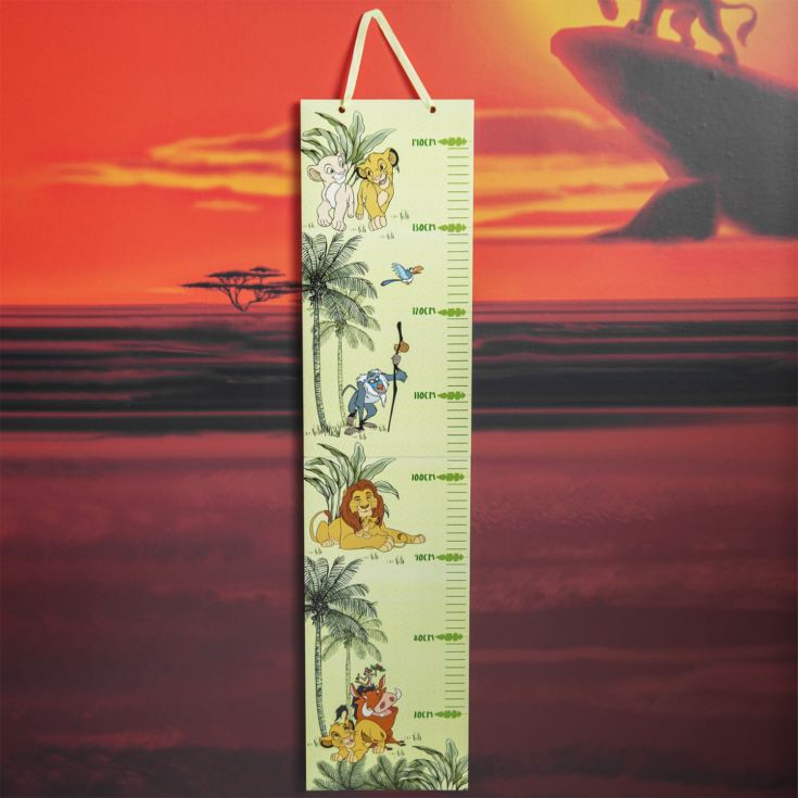 Disney Lion King Folding Wooden Height Chart product image