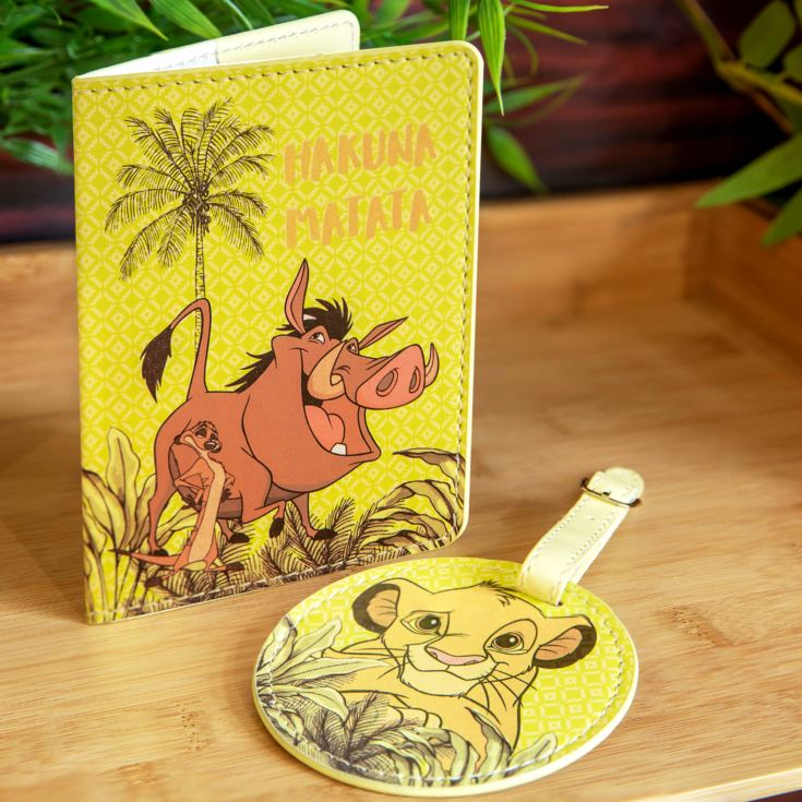 Disney Lion King Luggage Tag & Passport Cover product image