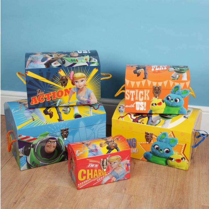 Toy Story 4 Set of 5 Storage Trunks product image