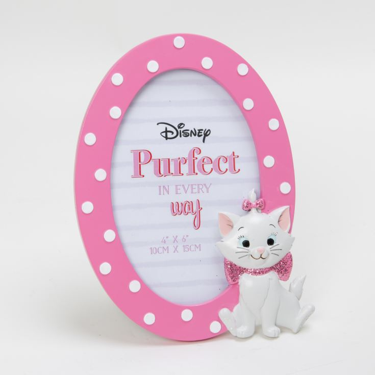 "4"" x 6"" - Disney Oui Marie Oval 3D Moulded Photo Frame product image"