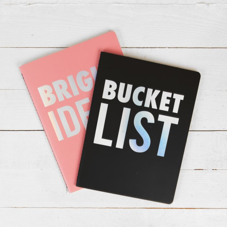 Studio Oh Bright Ideas & Bucket List B5 Notebook Duo product image