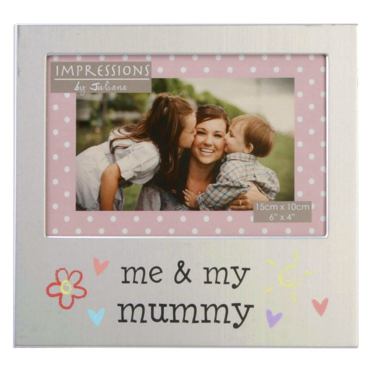 "6"" x 4"" - Aluminium Photo Frame - Me & My Mummy product image"