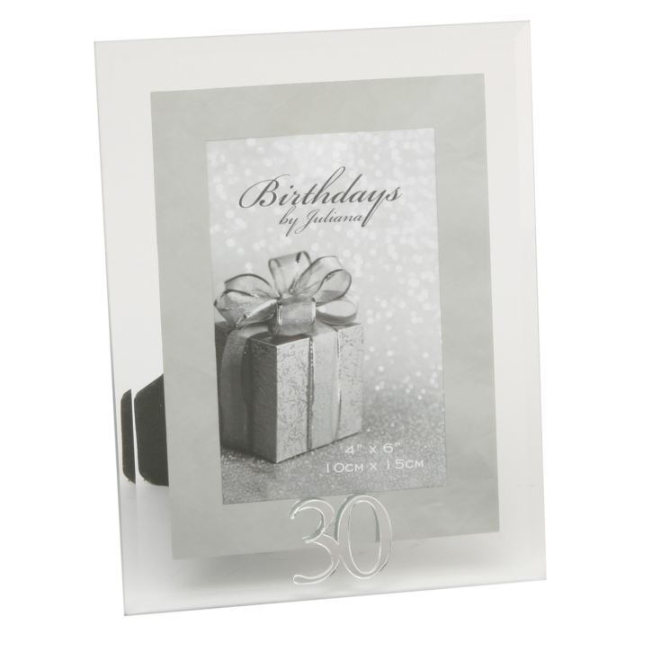 "4"" x 6"" - Birthdays by Juliana Photo Frame - 30th product image"