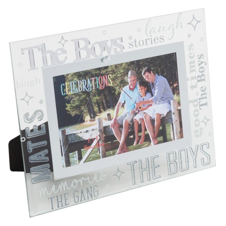 "6"" x 4"" - CELEBRATIONS® Friends & Family Frame - THE BOYS product image"