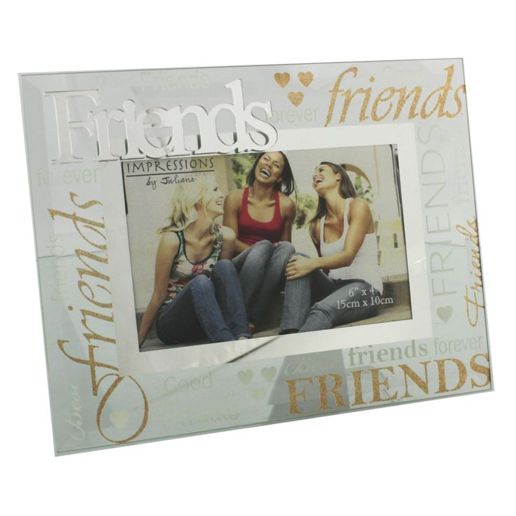 "6"" x 4"" - Glass Photo Frame - Friends product image"