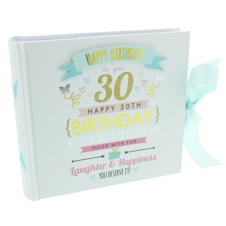 Signography 30th Birthday Photo Album product image