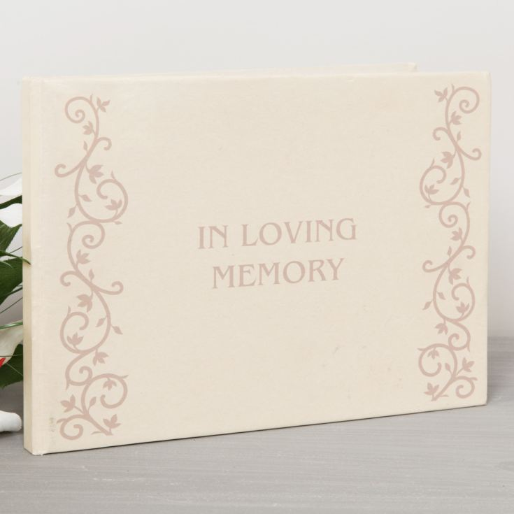 In Loving Memory Book of Condolence product image
