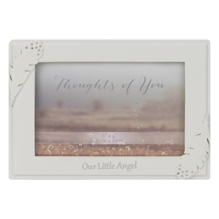 "4"" x 6"" - Thoughts of You Frame with Crystals - Our Angel product image"