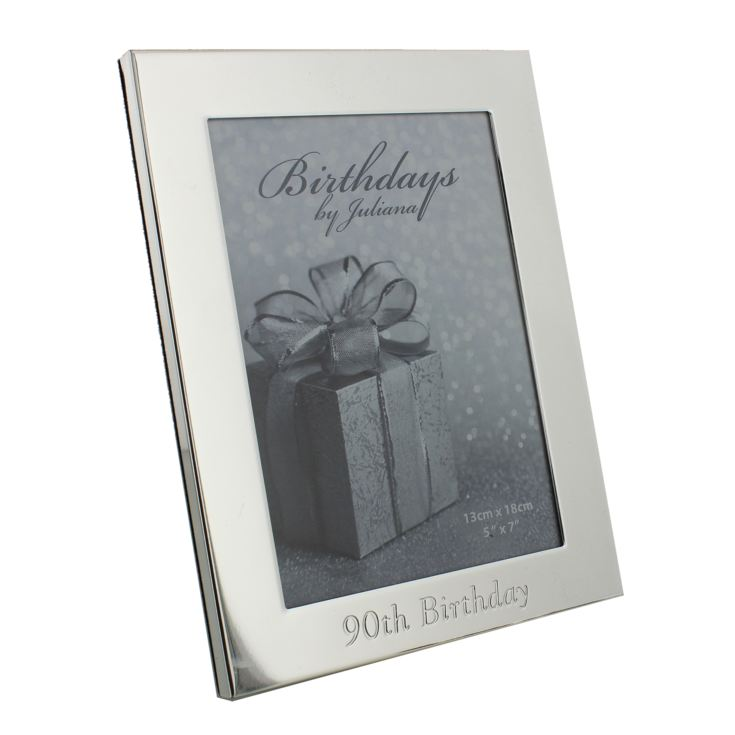 "5"" x 7"" - Birthdays by Juliana Silverplated Photo Frame - 90 product image"