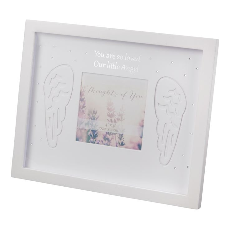 "4"" x 4"" - Thoughts of You Thick Frame - Our Little Angel product image"