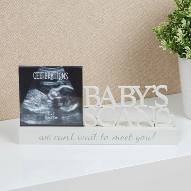 "4"" x 4"" - Celebrations Photo Frame - Baby Scan product image"