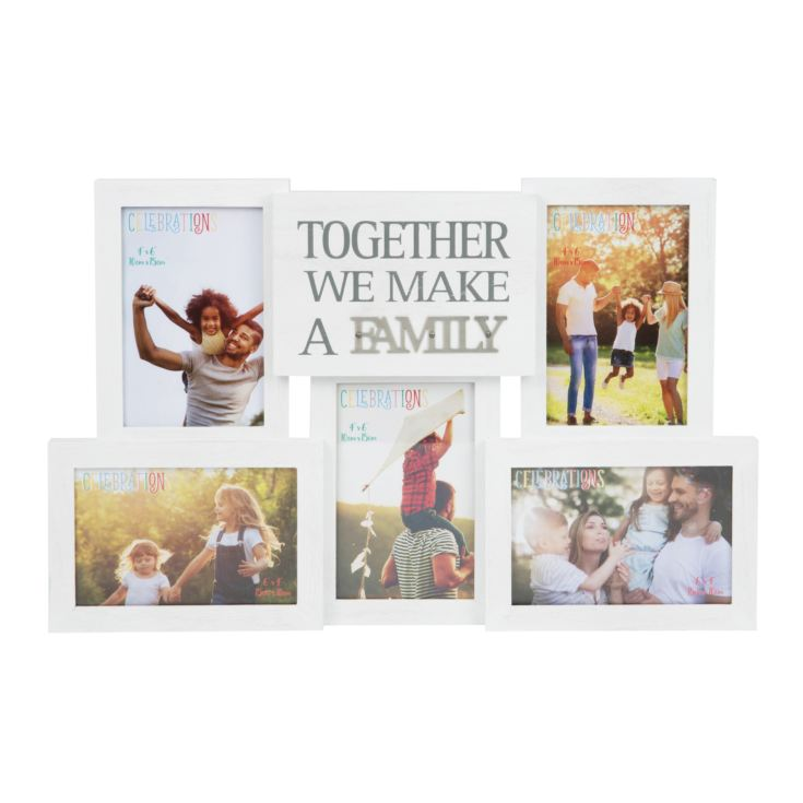 Collage Photo Frame with Metal Words - Family product image