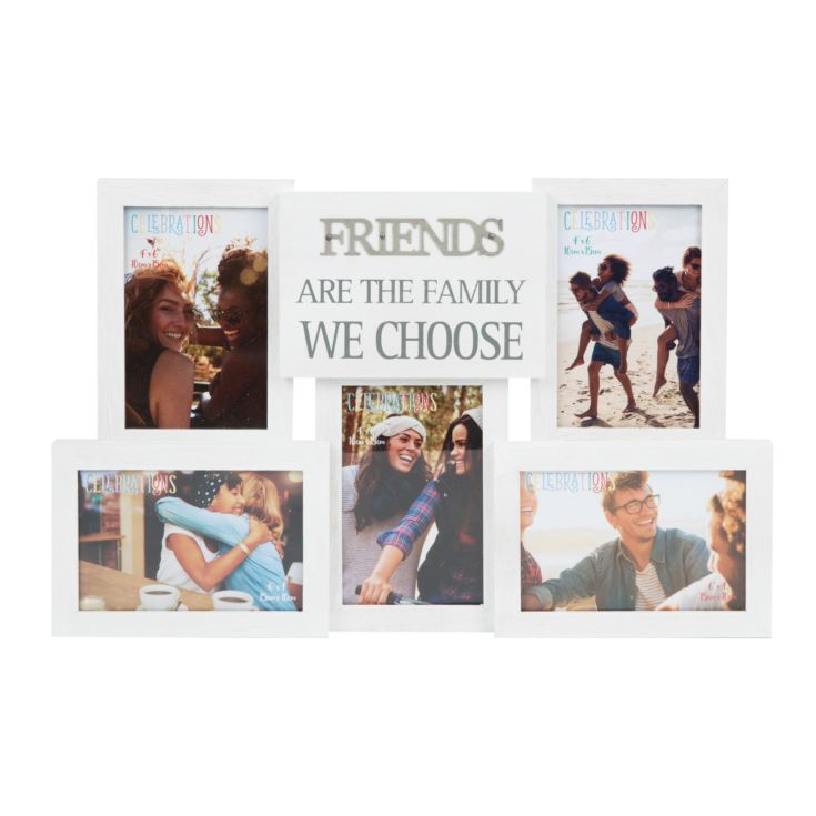 Collage Photo Frame with Metal Words - Friends product image