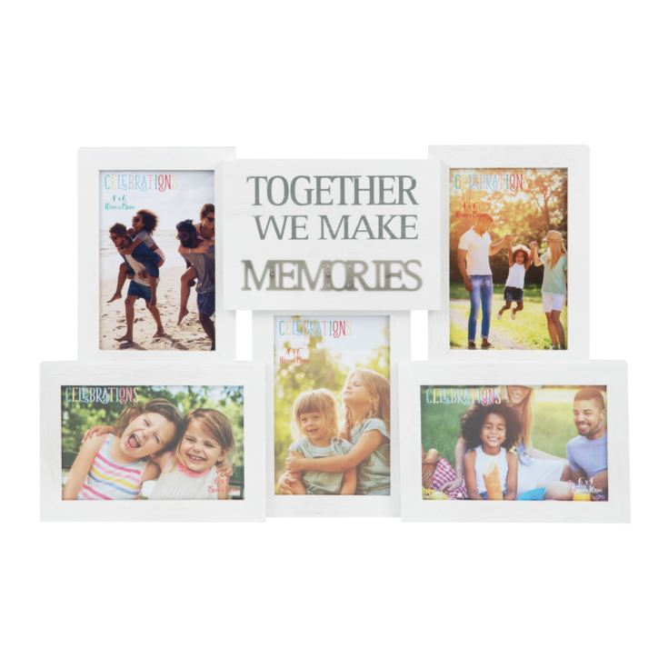 Collage Photo Frame with Metal Words - Memories product image