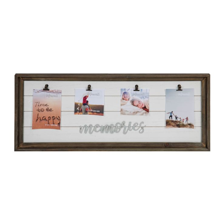 "'Moments' Multi Aperture Clip Frame 4"" x 6"" Memories product image"