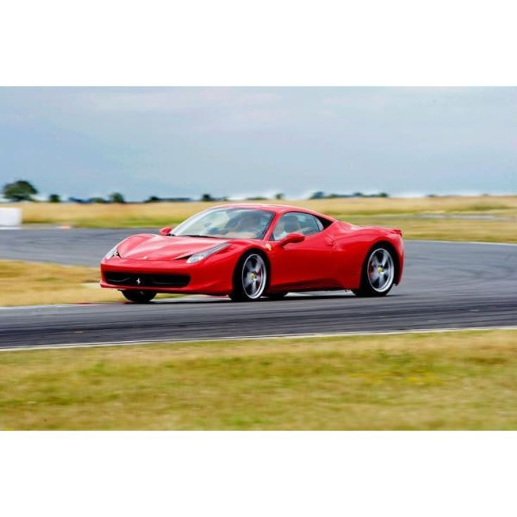 Ferrari 458 Driving Thrill with Free Passenger Ride product image