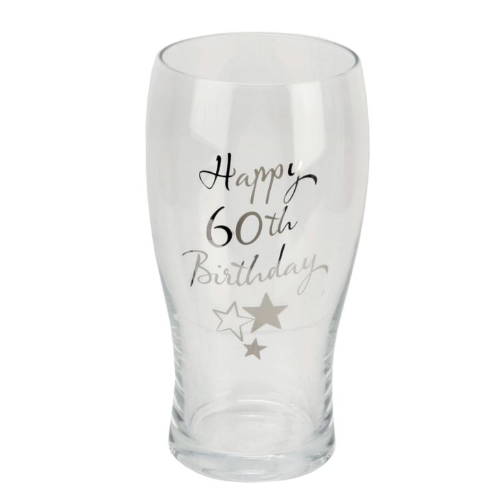 Birthdays by Juliana Beer Glass - 60th Birthday product image