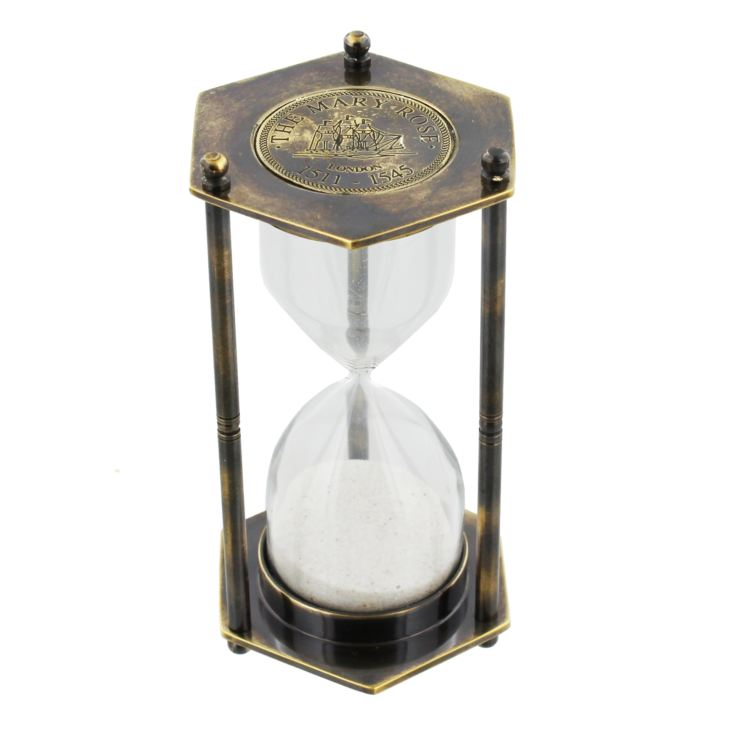 Emporium Collection Brass Hexagonal 1 Minute Timer product image