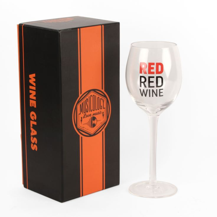 Musicology Wine Glass - Red Red Wine product image