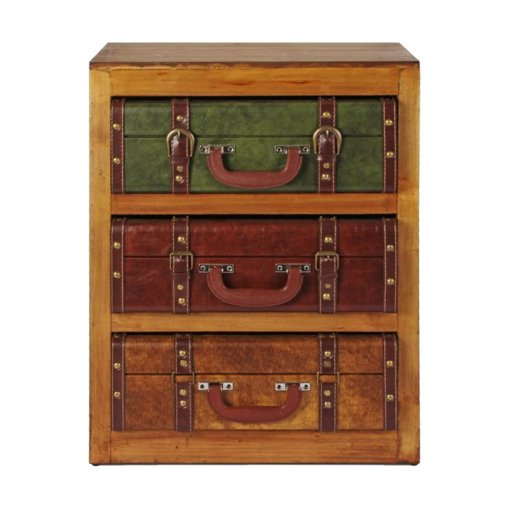 Emporium Collection Wooden 3 Drawer Cabinet product image