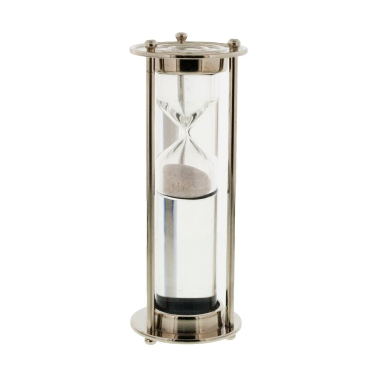 Emporium Collection - Nickel Finish Water Tube Timer product image