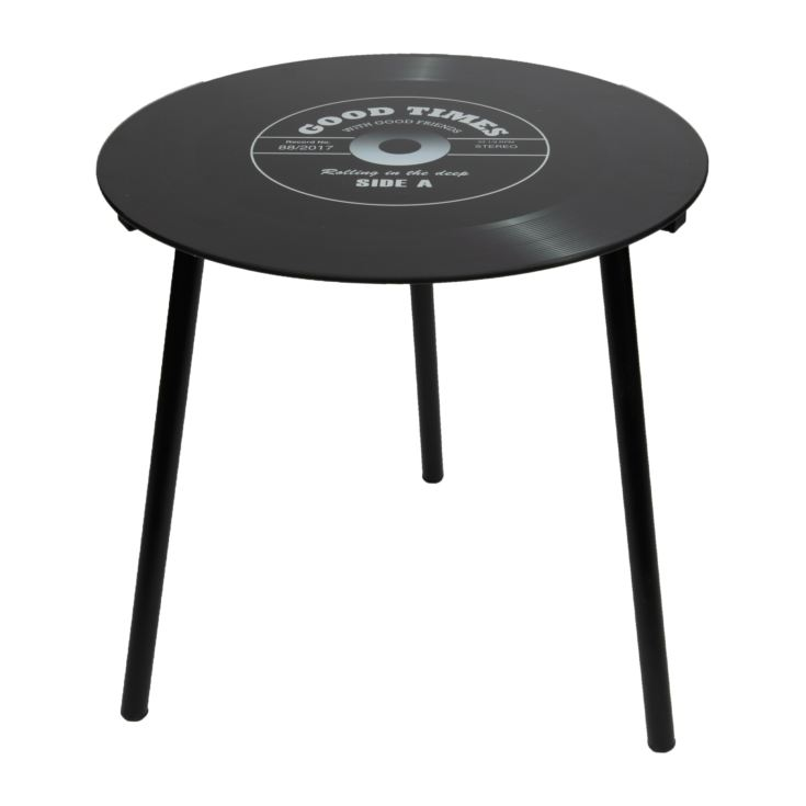 Musicology Record Shaped Side Table product image