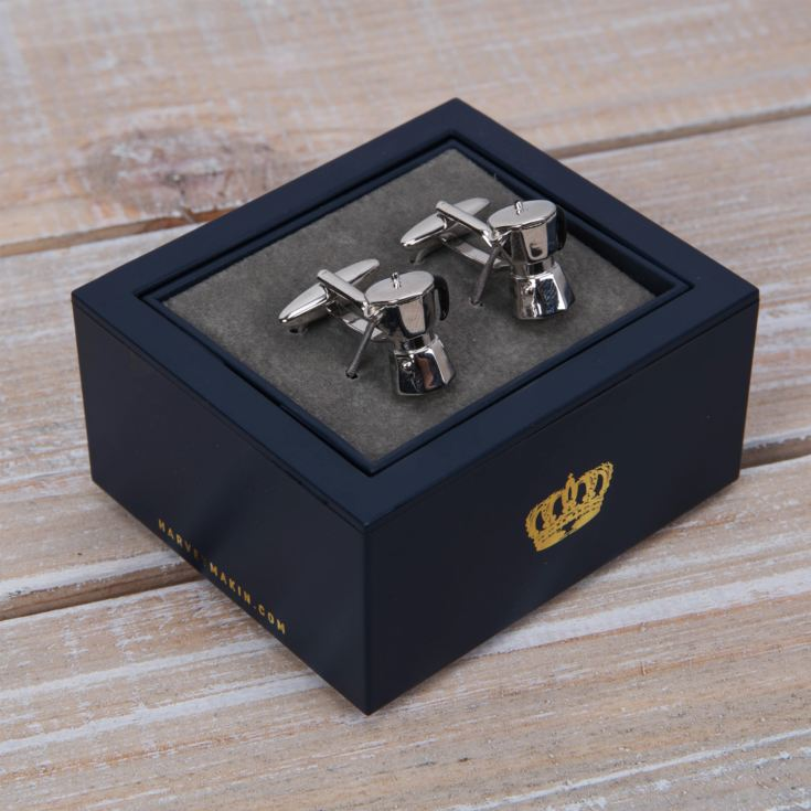 Harvey Makin Cufflinks - Coffee Pot product image