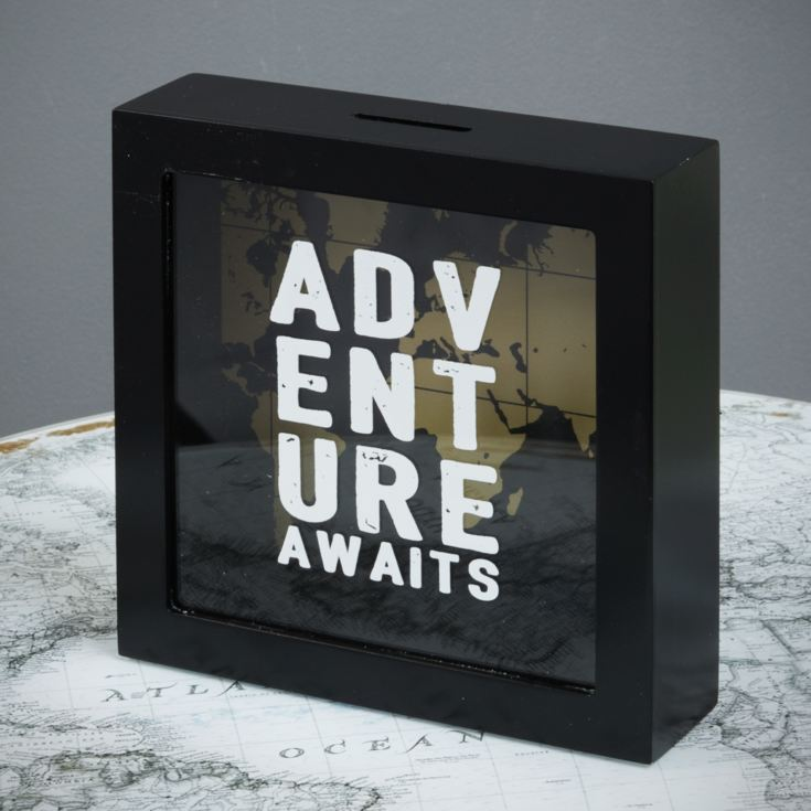 Explore Adventure Fund Money Box 18cm product image
