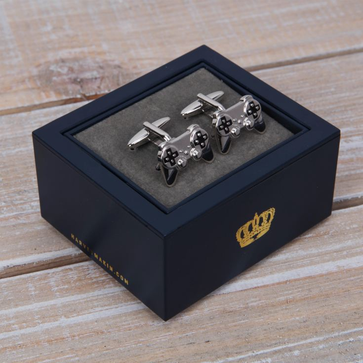 Harvey Makin Game Controller Cufflinks product image
