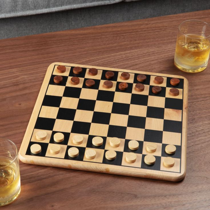 Harvey's Bored Games - Draughts Set product image