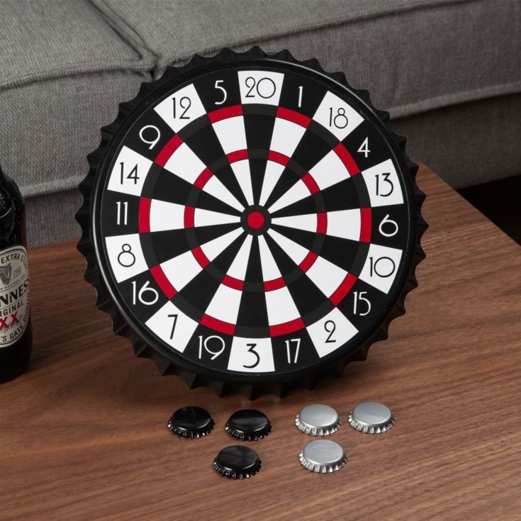 Harvey's Bored Games - Magnetic Bottle Cap Darts product image