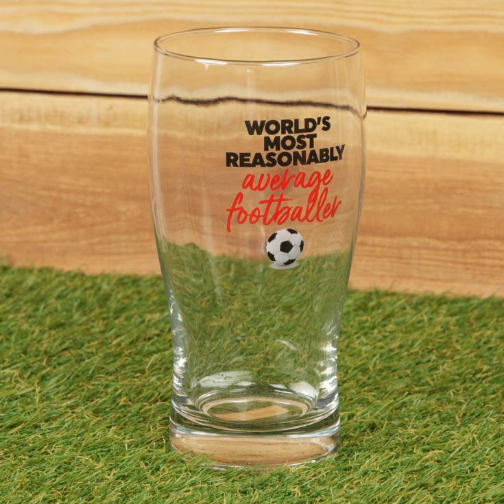 Armchair Supporters Society Pint Glass - Average Footballer product image