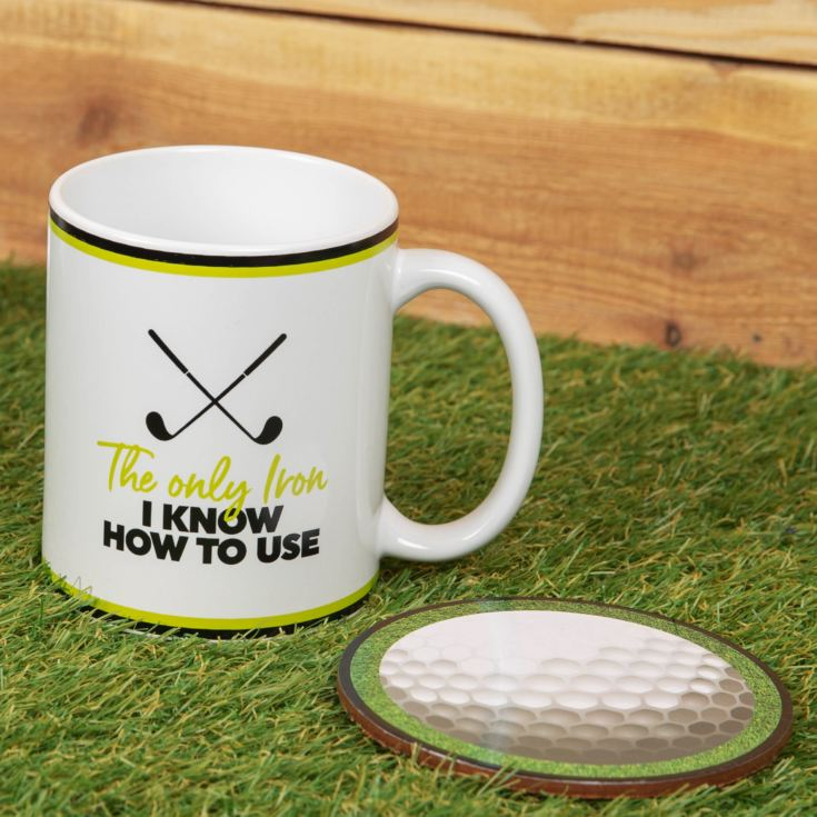 Armchair Supporters Society Mug & Coaster Set - Golf product image