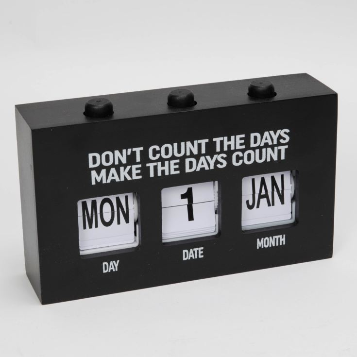 The Office Push Button Large Perpetual Calendar product image