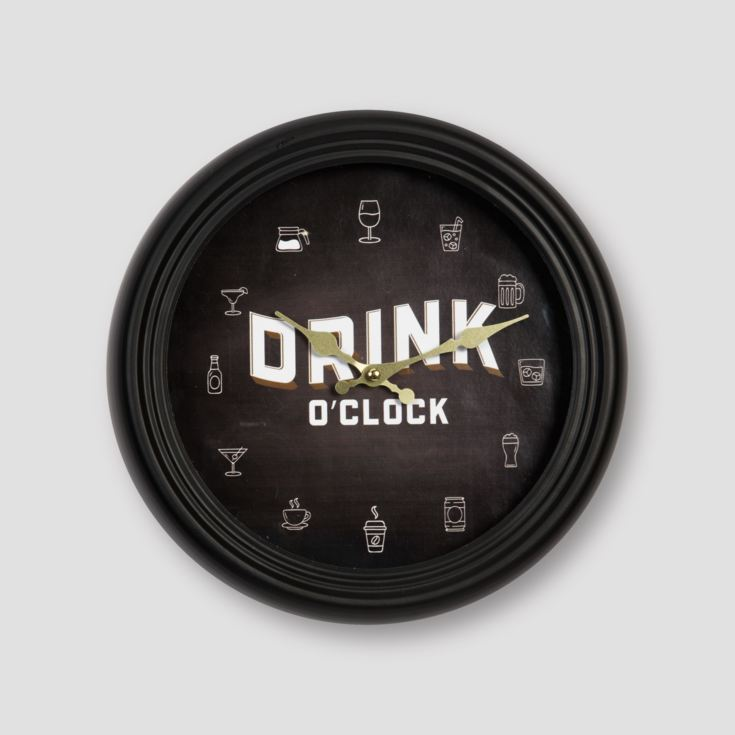 Brewmaster Metal Case Wall Clock 30cm product image