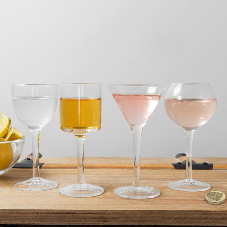 Brewmaster Set of 4 Cocktail Glasses product image