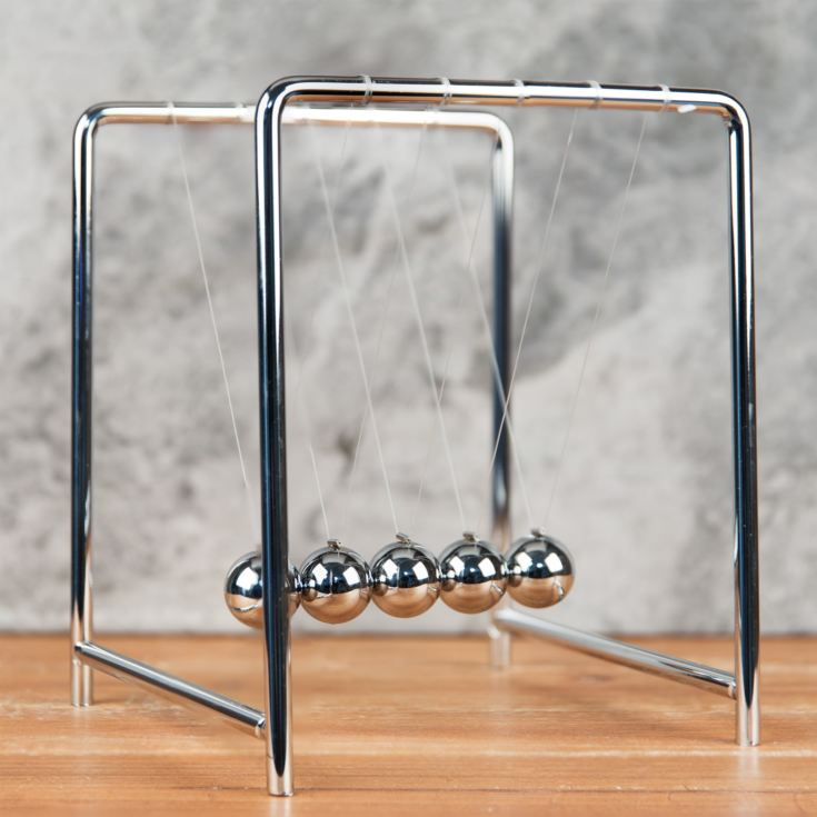 Harvey Makin Collection - Metal Newton's Cradle 14x18cm product image