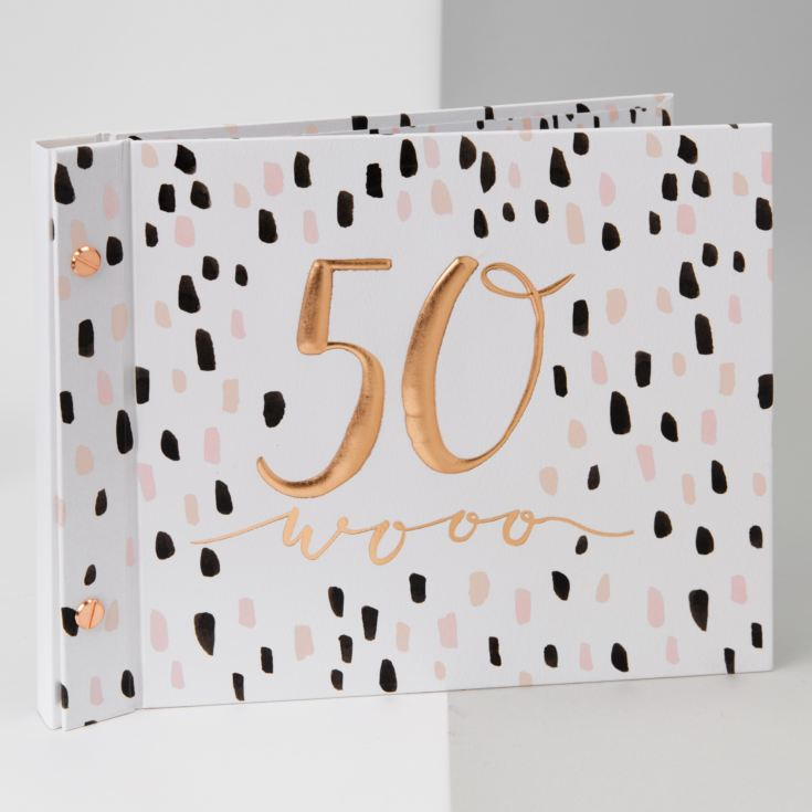 Luxe Birthday Photo Album & Guest Book - 50 product image