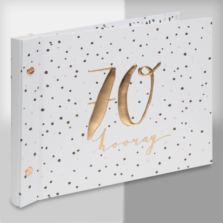 Luxe Birthday Photo Album & Guest Book - 70 product image