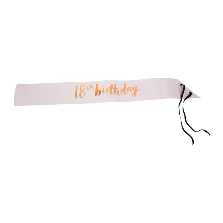 Luxe Birthday Sash 18 product image