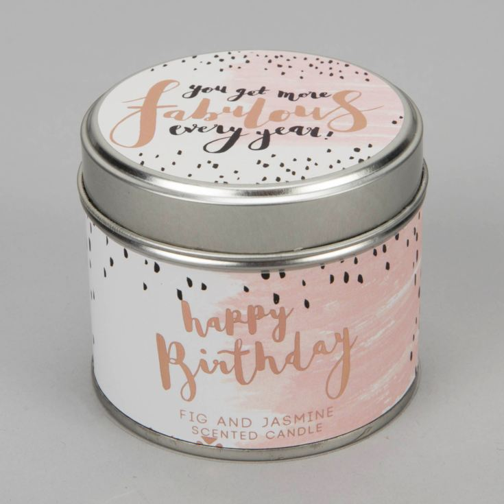 Luxe Candle in a Tin - Fabulous product image