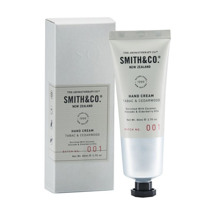 Smith & Co. 80ml Hand Cream - Tabac & Cedarwood product image